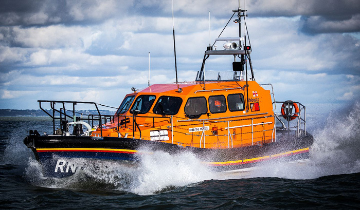 Dungeness' Shannon class lifeboat 13-02 The Morrell