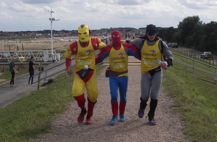 UPDATE: The lads arrive in Wells on day 3 of their epic journey...