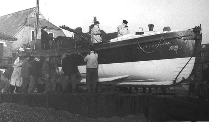 Lucy Lavers lifeboat