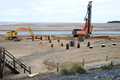 Piling for the ALB ramp