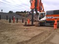 Quick progress with piling for the ramp