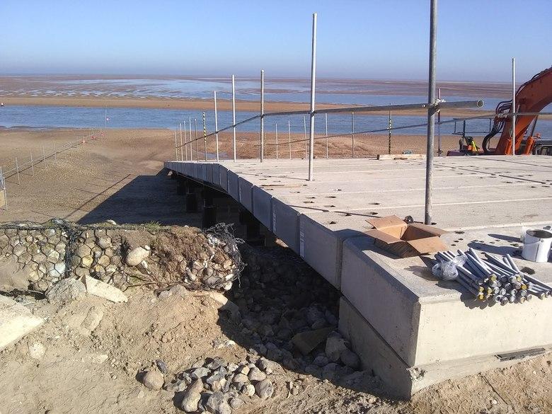New boathouse build
