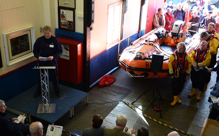 Chairman Peter Rainsford welcomed guests and introduced the proceedings