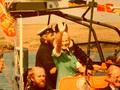 HRH Duchess of Kent aboard the Doris M Mann of Ampthill, 1990