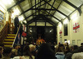 Packed boathouse for the 2015 Christmas Carol Service