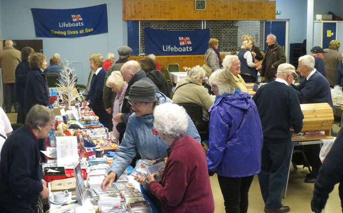Stalls at the guild Xmas Bazzar, November 2014