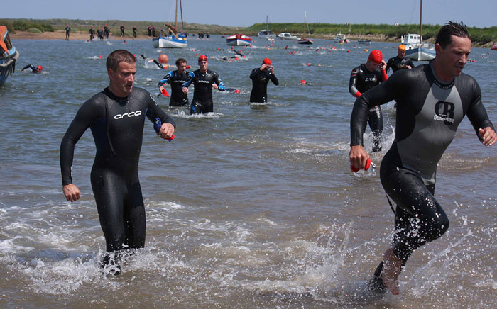 Norfolk Superhero 2014 swim
