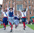 Barley Brigg at Layer Marney Tower. The side will be dancing in Wells raising money for the station