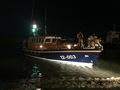 Reocvery of the lifeboat after service to 'Valkyrie' , 3/1/18