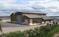 New boathouse for Wells - artist's impression