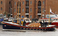 Sea trials at Wells with newly relaunched historic lifeboat Lucy Lavers, 4 May 15