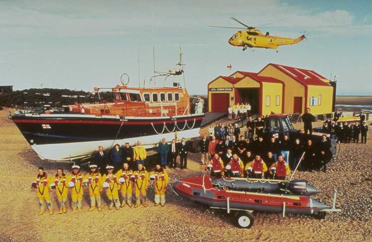 The Rescue Team at Wells, 1993