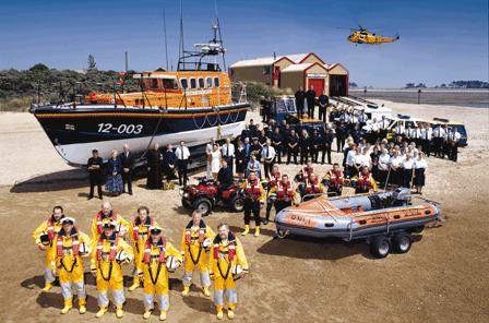 The Millenium Rescue Team in 2000