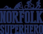 Norfolk Superhero challenge logo
