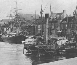 The steam tug Promise at Wells, circa 1880