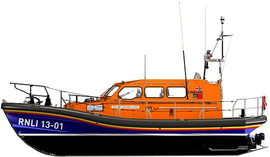 Shannon Lifeboat drawing
